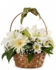Sepet'te Çiçek